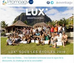 LUX sous les étoiles 2016