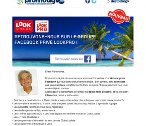 Rejoignez-nous dans le groupe privé Lookpro !
