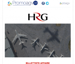 HRG recrute un BILLETTISTE AFFAIRE